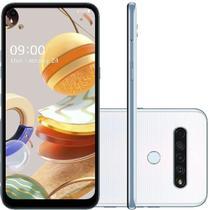 "Smartphone LG K61 Dual Chip Android 9.0 Tela 6.53"" Octa Core 128GB 4G Câmera 48M+8M+5M+2M - Branco -"