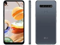 Smartphone LG K61 Dual Tela 6.53 Octa Core 128GB 4G Câmera 48M+W8M+D5M+M2M - Titânio -
