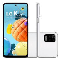 Smartphone LG K62+ LMK525BMW 128GB Tela 6.6 HD+ Android 10.0 (Q OS) Branco -