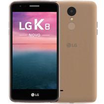 """Smartphone LG K8 Novo 16GB Dual Chip 4G Tela 5.0"""" Câmera 13MP Câmera Frontal 5MP Android 6.0 Dourado -"""
