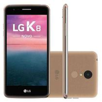 Smartphone / LG / K8 Plus / Tela de 5 / Single Sim / 16GB - Dourado -