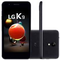 "Smartphone LG K9 com TV Digital Preto 16GB Tela 5"" Dual Chip Câmera 8MP -"