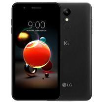 "Smartphone LG K9 Dual Chip Android 7.0 Tela 5"" Quad Core 1.3 Ghz 16GB 4G Câmera 8MP - Preto -"