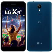"Smartphone LG K9 LMX210BMW, Dual Chip, 5"", Android 7.0, 8MP, 16GB - Azul -"
