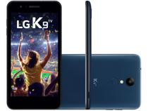 "Smartphone LG K9 TV 16GB Azul Dual Chip 4G - Câm. 8MP + Selfie 5MP Tela 5"" HD Proc. Quad Core"