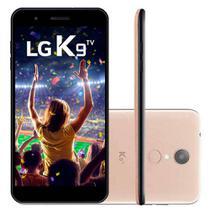 """Smartphone LG K9 TV, Dourado, LMX210, Tela de 5"""", 16GB, 8MP -"""