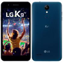 "Smartphone LG K9 TV, Dual Chip, Azul, Tela 5"", 4G+WiFi, Android 7.0, Câmera 8MP, 16GB, TV Digital -"