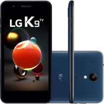 Smartphone LG K9 TV Dual Chip Tela 5 Quad Core 1.3 Ghz 16GB 4G Câmera 8MP - Azul -