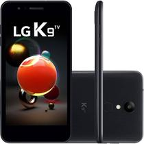 Smartphone LG K9 TV Dual Chip Tela 5 Quad Core 1.3 Ghz 16GB 4G Câmera 8MP - Preto -