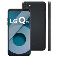 "Smartphone LG Q6, 32GB, 5.5"", Android 7.0, 13MP -  Preto"