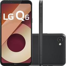 Smartphone LG Q6 32GB Dual Chip 4G Tela 5.5 Full Hd+ Octacore Câmera 13MP - Preto -
