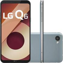 Smartphone LG Q6 Dual Chip Android 7.0 Tela 5.5 Full Hd+ Octacore 32GB 4G Câmera 13MP - Platinum -