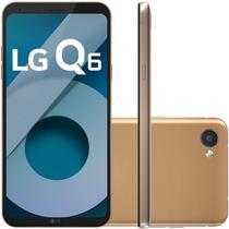 "Smartphone LG Q6 LGM700TV Rose Gold 32GB 5,5"" Dual Chip 13MP Octa Core 3GB RAM -"