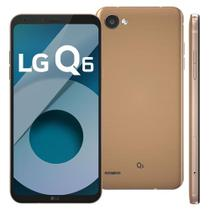 Smartphone LG Q6 Rose Gold com 32GB, Tela 5.5, Android 7.0, 4G, Câmera 13MP,Octa-Core e 3GB de RAM