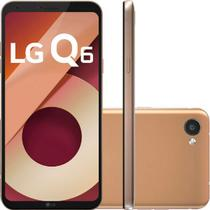Smartphone LG Q6 Rose Gold LGM700TV, Tela de 5.5