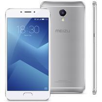 "Smartphone Meizu M5 Note Prata 5.5"" Octacore 3GB + 32GB Dual SIM 4G leitor biométrico -"