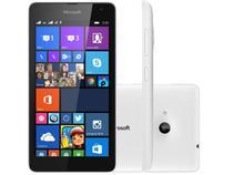"Smartphone Microsoft Lumia 535 8GB Dual Chip 3G - Câm. 5MP Tela 5"" Proc. Quad Core Windows Phone 8.1"