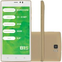 Smartphone Mirage 81S 4G Quadcore 2Gb Ram Dual Camera 13Mp e 8Mp Tela 5,5