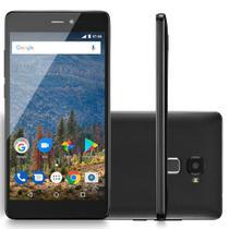 Smartphone Mirage 82S Sensor De Impressão Digital 4G Tela 5,5 Ram 2Gb Dual Câmera Quad Core Preto - 1007 -