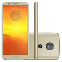 "Smartphone Moto E5 Ouro Dual Chip 32GB 13MP Android 8.0 Tela 5.7"" Quad-Core 1.4 GHz - Motorola"