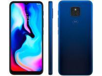 Smartphone Moto E7 Plus 64GB Dual Tela 6.5 4G Câmera 48MP- Azul Navy - Motorola
