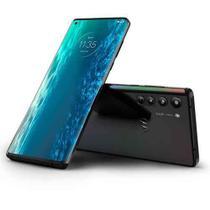 """Smartphone Moto Edge Solar Black, com Tela de 6,7"""", 5G, 128 GB e Câmera Quádrupla de 64MP+16MP+8MP+TOF - XT2063-3 - Motorola"""