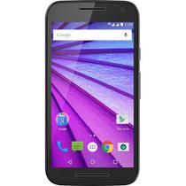 Smartphone Moto G 3ª Ger XT1543, Dual Chip, Tela 5, Quad-Core 1.4, 4G, 16GB, 2GB RAM, 13MP - Preto - Motorola