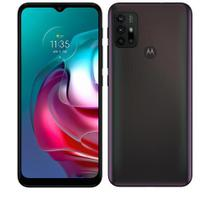 """Smartphone Moto G30 Dark Prism, com Tela de 6,5"""", 4G, 128GB e Câmera Quádrupla de 64 MP+8 MP+2 MP+2 MP-XT2129-1 - Motorola"""
