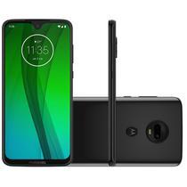 """Smartphone Moto G7 64GB 4GB RAM Tela de 6.24"""" Câmera Traseira Dupla 12MP e 5MP Onix - Motorola"""