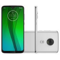"""Smartphone Moto G7 64GB 4GB RAM Tela de 6.24"""" Câmera Traseira Dupla 12MP e 5MP Polar - Motorola"""
