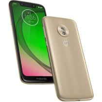 "Smartphone Moto G7 Play Motorola, Tela 5,7"", 2GB ram, 32 GB, Android 9.0 - Dourado -"