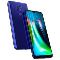 Smartphone Moto G9 Play 64GB Tela 6.5 Azul Safira 4G Dual - Motorola