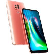 Smartphone Moto G9 Play 64GB Tela 6.5 Rosa Quartzo 4G Dual - Motorola