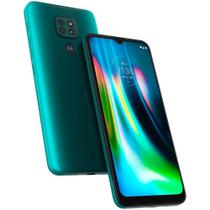 Smartphone Moto G9 Play 64GB Tela 6.5 Verde Turquesa 4G Dual - Motorola