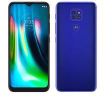 """Smartphone Moto G9 Play Azul Safira, com Tela de 6,5"""", 4G, 64GB e Câmera de 48MP + 2MP + 2MP - XT2083-1 - Motorola"""