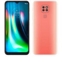 """Smartphone Moto G9 Play Rosa Quartzo, com Tela de 6,5"""", 4G, 64GB e Câmera de 48MP* + 2MP - XT2083-1 - Motorola"""