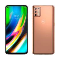 "Smartphone Moto G9 Plus Ouro Rose, Dual Chip,Tela 6.8"", 4G+Wi-Fi+NFC, Android 10, Câm Tras.64+8+2+2MP e Frontal 16MP, 128GB - Motorola"