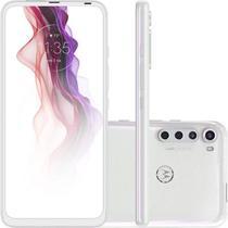 "Smartphone Motorola 6,5"" XT2067-2 Moto One Fusion Plus Dual chip 4GB Ram 128GB Câmera 64MP Branco -"