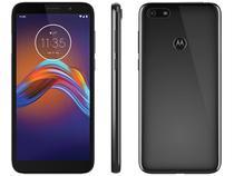 "Smartphone Motorola E6 Play 32GB Cinza Metálico 4G - 2GB RAM Tela 5,5"" Câm. 13MP + Câm. Selfie 5MP"
