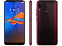"Smartphone Motorola E6 Plus 32GB Rubi 4G 2GB RAM - Tela 6,1"" Câm. Dupla + Câm. Selfie 8MP Dual Chip"