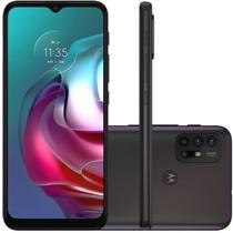 "Smartphone Motorola G30 128GB Tela de 6,5"" Câmera 64 MP 8MP Dark Prism -"
