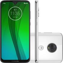 Smartphone Motorola G7 64GB Polar 4G - 4GB RAM Tela 6,24 Câm. Dupla + Câm. Selfie 8MP -