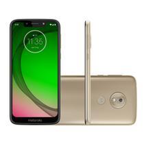 Smartphone Motorola G7 Play 32GB 4G 2GB RAM Tela 5,7 Câm. 13MP + Câm. Selfie 8MP - Dourado -