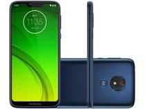 "Smartphone Motorola G7 Power 32GB Azul Navy 4G - 3GB RAM Tela 6,2"" Câm. 12MP + Câm. Selfie 8MP"