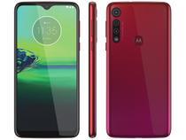"Smartphone Motorola G8 Play 32GB Vermelho 4G - 2GB RAM Tela 6,2"" Câm. Tripla + Câm. Selfie 8MP"