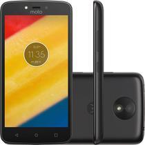 Smartphone Motorola Moto C 8gb Android Dual Chip Tela 5 Câmera 5mp - Preto -