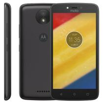 Smartphone Motorola Moto C Plus XT1726, 16GB, 5, Android 7.0, 8MP - Preto