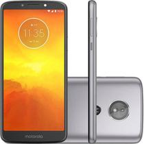 """Smartphone Motorola Moto E5 Dual Chip Android Oreo - 8.0 Tela 5.7"""" Quad-Core 1.4 GHz 16GB 4G Câmera 13MP - Platinum -"""