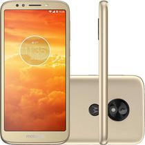 "Smartphone Motorola Moto E5 Play 16GB 5,3"" Dual Chip 4G Ouro -"