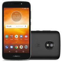 "Smartphone Motorola Moto E5 Play 16GB Preto 4G - Quad Core 1GB RAM Tela 5,34"" Câm. 8MP + Selfie 5MP -"